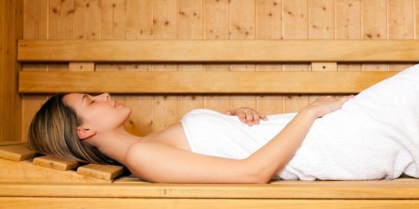 enjoy a sauna safely