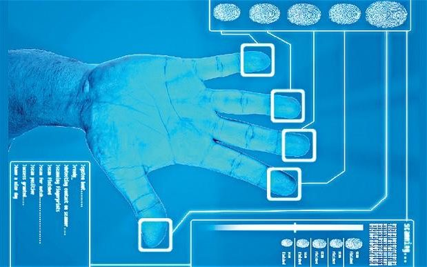 Fingerprint identification on the bank of the future