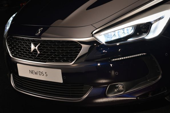 DS5 new, highly technological and dynamic