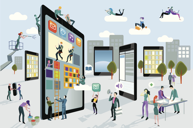 Businesses need to be in the mobile environment to be competitive
