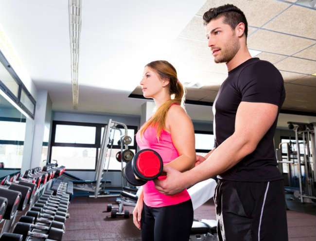 The five keys to choose a personal trainer