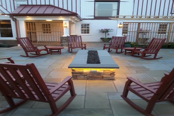 Rocking chairs for terraces