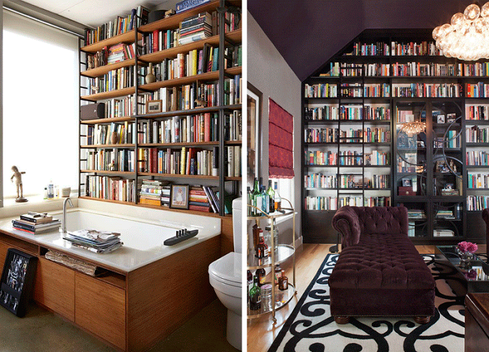 Decorate with ... books!