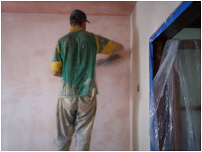 How to fix damaged plaster