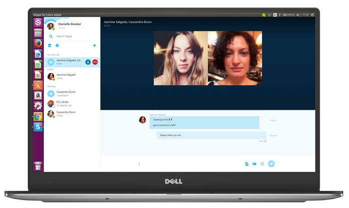 Skype continues to improve its alpha for Linux, and adds SMS sending and improvements in identification